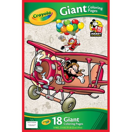 Crayola Giant Coloring Pages Mickey 39 s