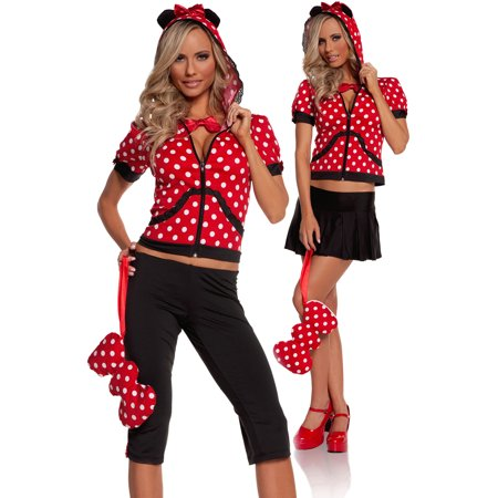 Miss Mouse Adult Halloween Costume - Halloween Mouse