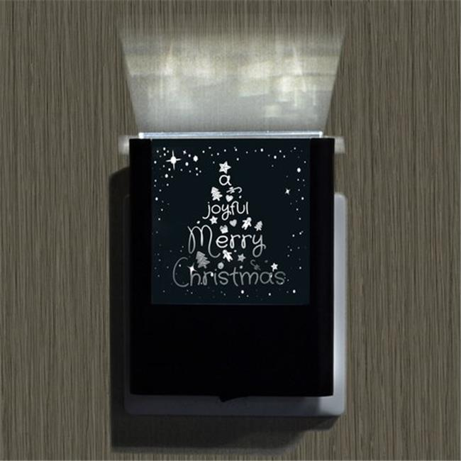 Uniqia UNLG0355 Night Light - Joyful Christmas Laser