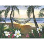 Printfinders 'Twilight Hammock' by Scott Westmoreland Graphic Art on Canvas