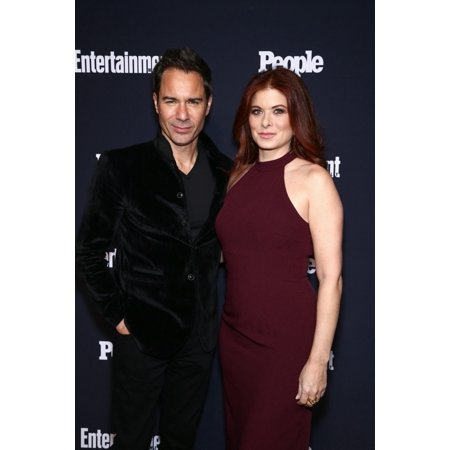 Eric Mccormack Debra Messing At Arrivals For Entertainment Weekly X People Magazine Ny Upfront Party LAmico Nyc New York Ny May 15 2017 Photo By John NacionEverett Collection Celebrity