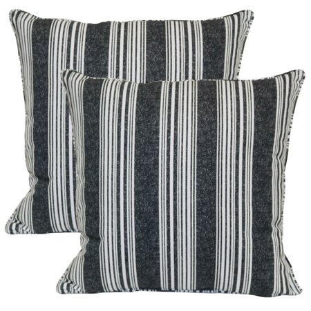 Better Homes Gardens 19 X 19 In Mirrored Stripe Outdoor Toss