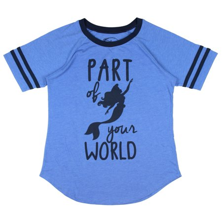 Disney Little mermaid Part Of Your World Boyfriend Juniors T-shirt
