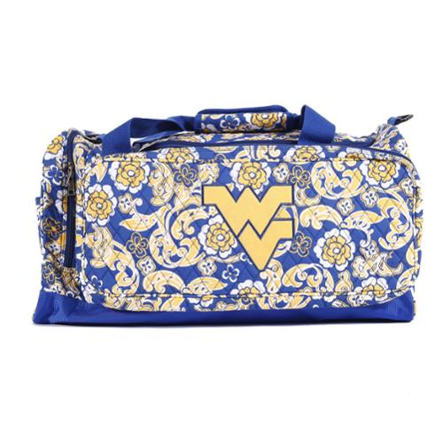 K-Sports West Virginia Mountaineers 22-inch Extra Large Duffle Bag