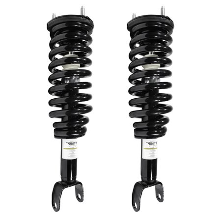 Unity Automotive 2-11096-001 Front 2 Wheel Complete Strut Assembly Kit 2005-2009 Dodge Dakota 4WD
