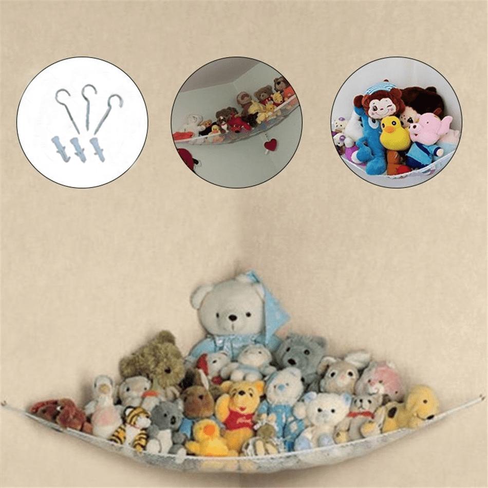 Infant Toddler Bath Toy Storage Stuff Tidy Organizer Toy Hammock P3