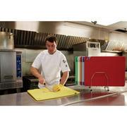 SAN JAMAR CBG121812RDGR Cutting Board,12x18,Red