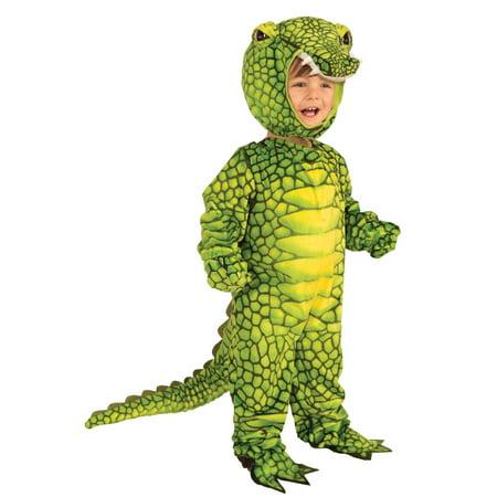 Plush Alligator Kids Costume (Children's Alligator Costume)