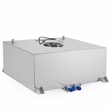 21 Gallon Gas Tank - Stark Universal Aluminum Fuel Tank Cell Racing Drift Gas Street Lightweight 20 Gallon Capacity