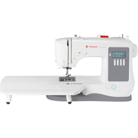 Singer 7640 Confidence 200-stitch Sewing Machine (White 1418 Sewing Machine)