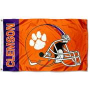 Clemson Tigers Football Helmet 3' x 5' Pole Flag