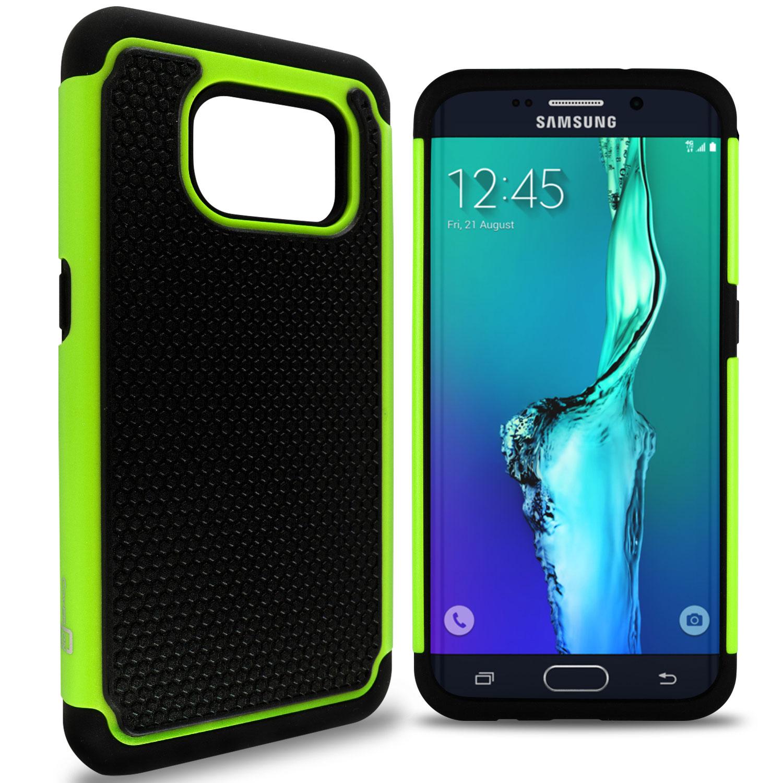 CoverON Samsung Galaxy S7 Edge Case, HexaGuard Series Hard Phone Cover