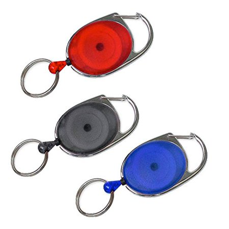 Lucky Line 64001 Retractable Key Chain- colors