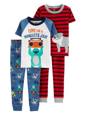 209bd8f04 Toddler Boys Pajama Sets - Walmart.com