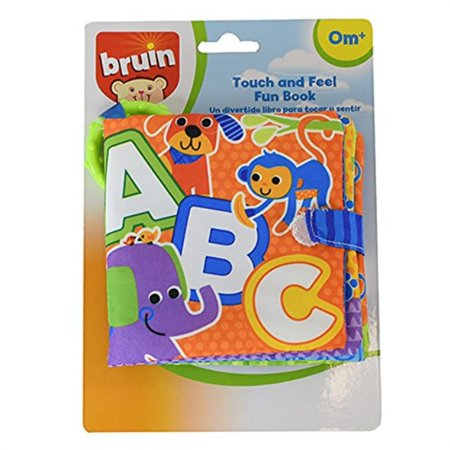 Bruin Touch And Feel Fun Book - - Fun Halloween Touch And Feel