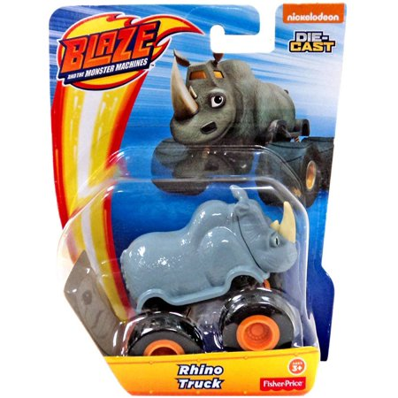 Blaze & the Monster Machines Nickelodeon Rhino Truck Diecast Car ()