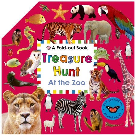 Treasure Hunt: At the Zoo : A Fold-Out Book - Treasure Hunt Halloween Clues