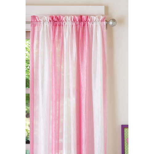 Your Zone Crushed Ombre Girls Bedroom Curtains