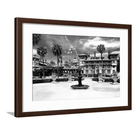 Halloween Store St Augustine (Flager College - St. Augustine - Florida - United States Framed Print Wall Art By Philippe)