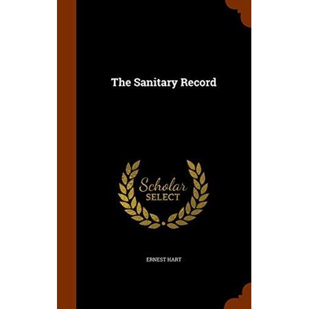 The Sanitary Record - image 1 of 1