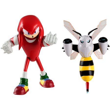 Sonic The Hedgehog Sonic Boom Knuckles   Beebot Action Figure 2 Pack