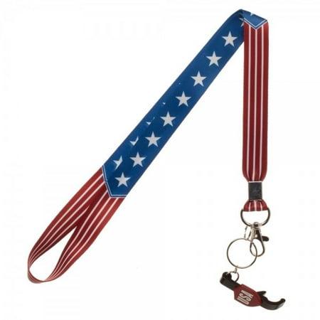- Americana USA Flag Lanyard w/ Bottle Opener