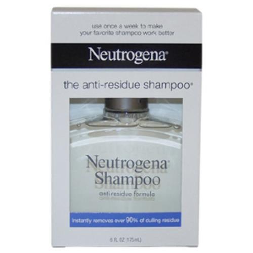 4 Pack - Neutrogena Anti-Residue Shampoo 6 fl oz (175 ml) Each