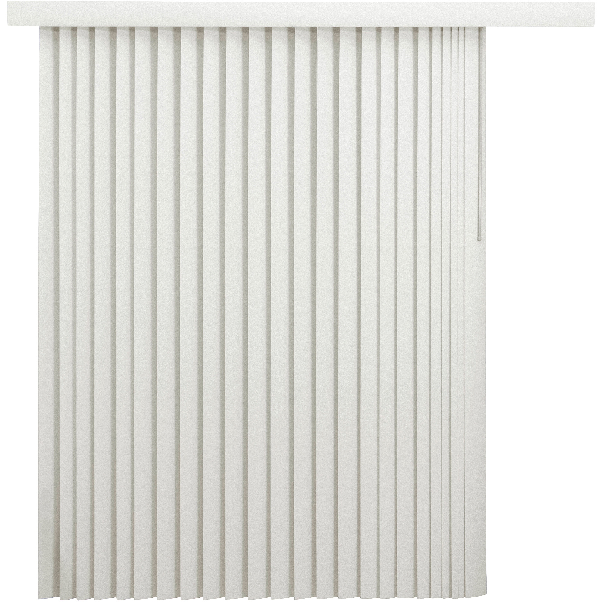 mainstays vertical blinds with embossed leaf pattern oyster
