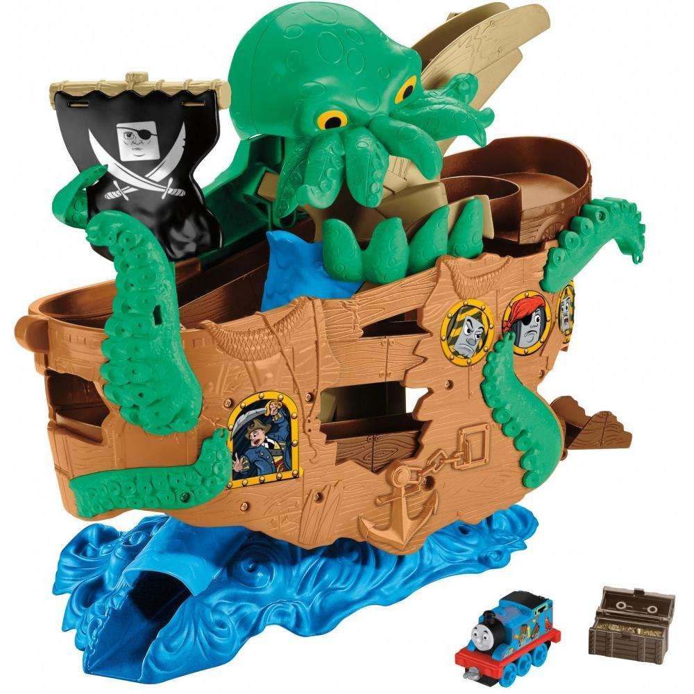 Thomas & Friends Adventures Sea Monster Pirate Set by Mattel