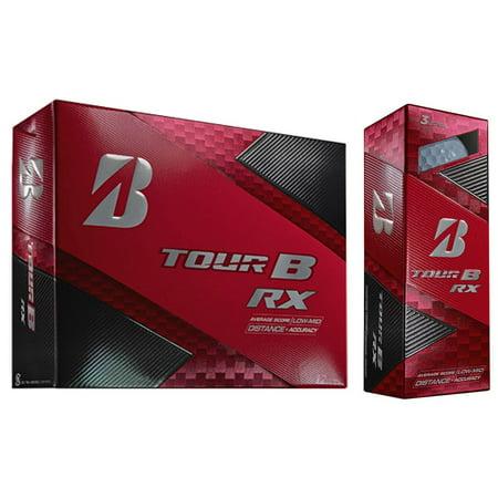 Bridgestone Tour B RX Feel and Distance Golf Balls Low Average Score (12 Dozen) - image 3 de 6