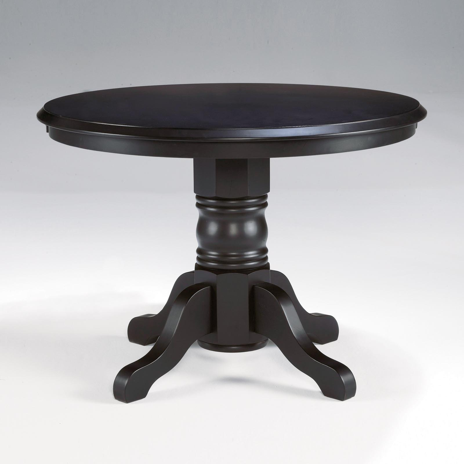 Merveilleux Home Styles Round Pedestal Dining Table, Black