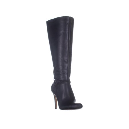 Womens I35 Taisa Knee High Boots, Black Smooth (Heelift Smooth Suspension Boot)