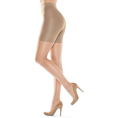 ASSETS Red Hot Label by SPANX Medium Control Mid-Thigh Shaper, 6, Nude](Nude Girls By Zip Code)