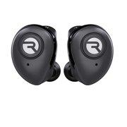 Raycon E50 Wireless Earbuds Headphones + Mic + Case Black - NEW