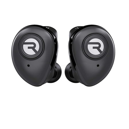 Raycon E50 Wireless Earbuds Bluetooth Headphones - Bluetooth 5.0 Bluetooth Earbuds Stereo Sound in-Ear Bluetooth Headset Wireless Earbuds 25 Hours Playtime and Built-in Microphone Black - Hd 25 Professional Closed Headphone