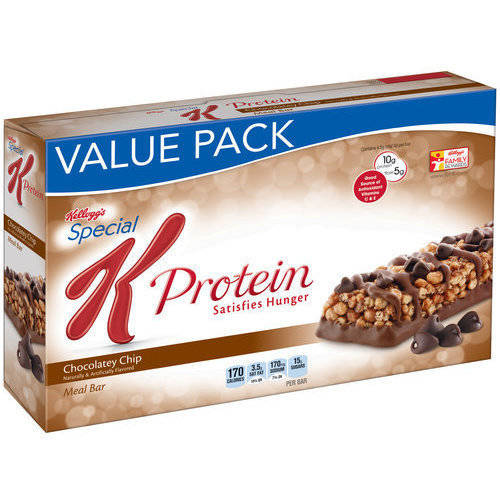 Kellogg's Special K Protein Chocolatey Chip Meal Bars, 12 ct, 19.08 oz
