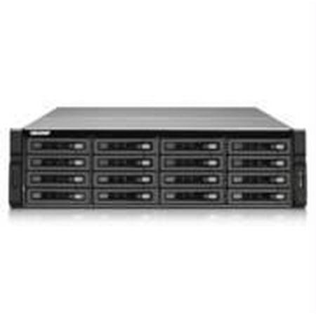 QNAP TS-EC1679U-SAS-RP-US Intel Xeon E3-1245 v2 3 4GHz- 8GB RAM