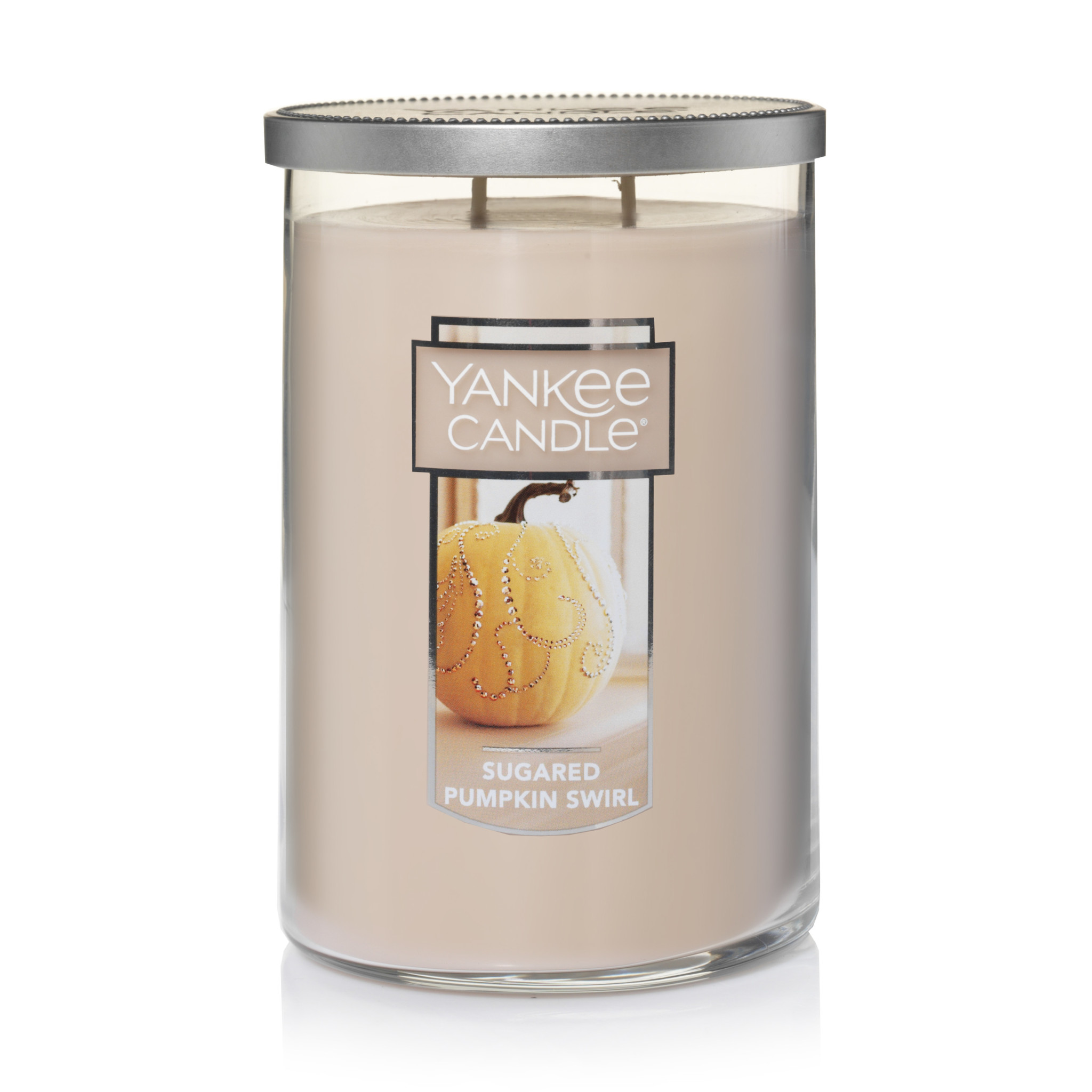 Yankee Candle Large 2-Wick Tumbler Candle, Sugar Pumpkin Swirl by Newell Brands