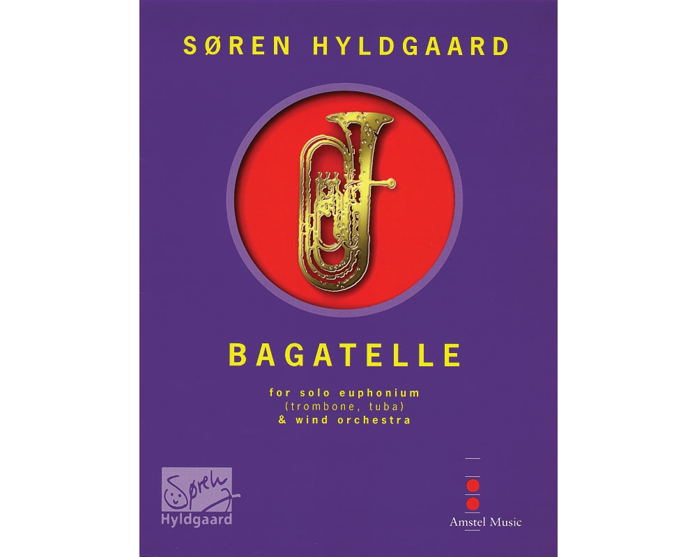 De Haske Music Bagatelle (for Euphonium & Wind Orchestra) (Score & Parts) Concert Band... by De Haske Music