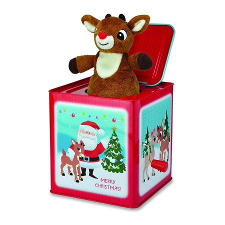 Kids Preferred Rudolph Jack in The Box Toy - Jester Jack In The Box