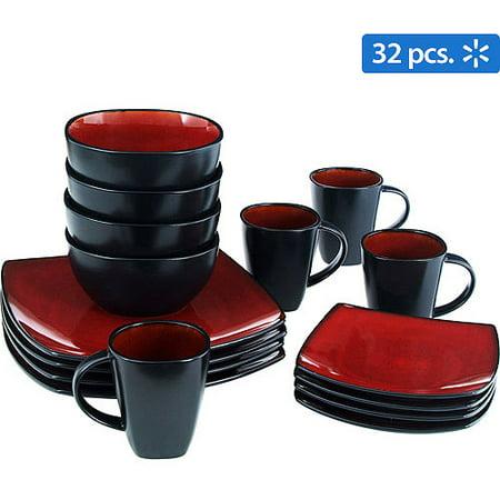 Gibson Home Soho Lounge Square 32-Piece Dinnerware Set (Soho Ny-shops)