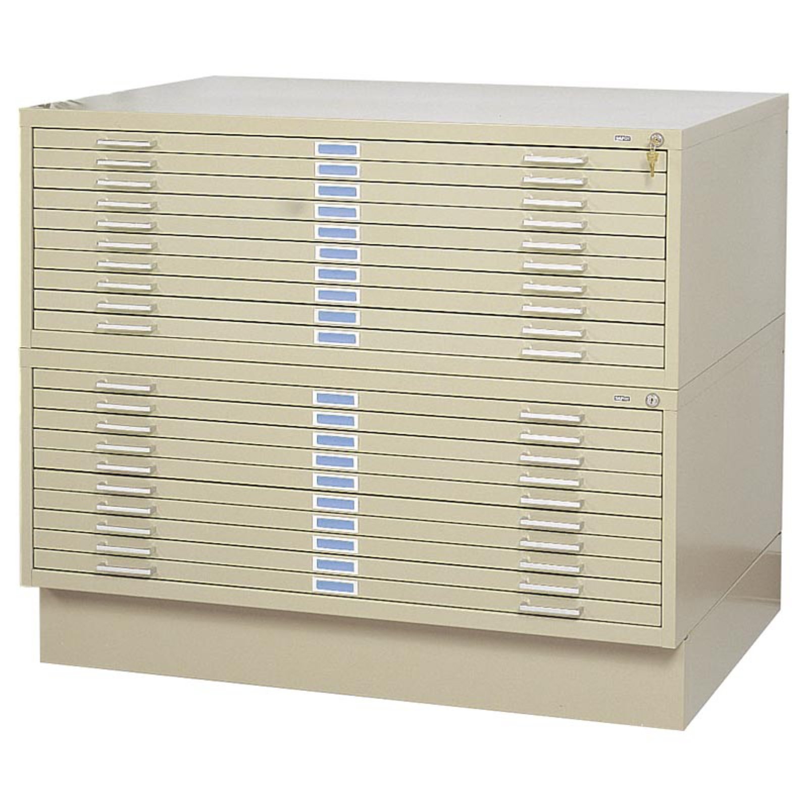 Safco 5 Drawer Steel Flat Files