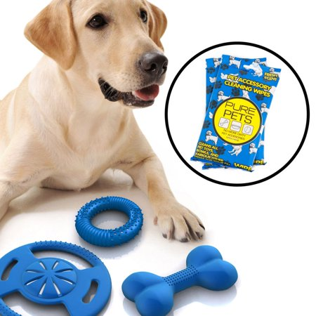 Pet Cleansing Wipes (72ct Pure Products Pet Accessory Wipes Dog Toy Bowl Cleaning Cat Fresh Scent)