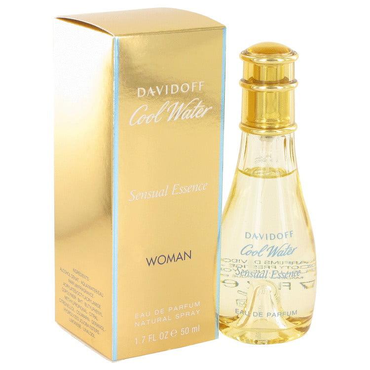 COOL WATER SENSUAL ESSENCE by Davidoff 1.7 oz EDP Spray Women's Perfume 50ml NIB