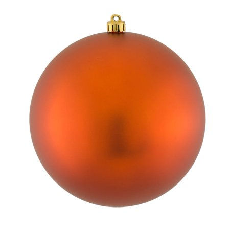 Copper Christmas Ornaments.Vickerman Matte Copper Uv Resistant Shatterproof Christmas Ball Ornament 8