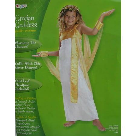Disguise Girls 'Grecian Goddess' Halloween Costume, White, - Girl Goddess Halloween Costumes