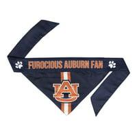 Little Earth Univeristy of Auburn Dog Bandana- Tie On - Small