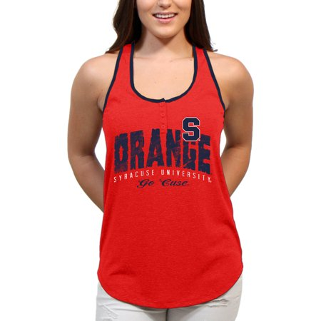 Syracuse Orange Choppy Arch Womens Juniors Team Tank Top