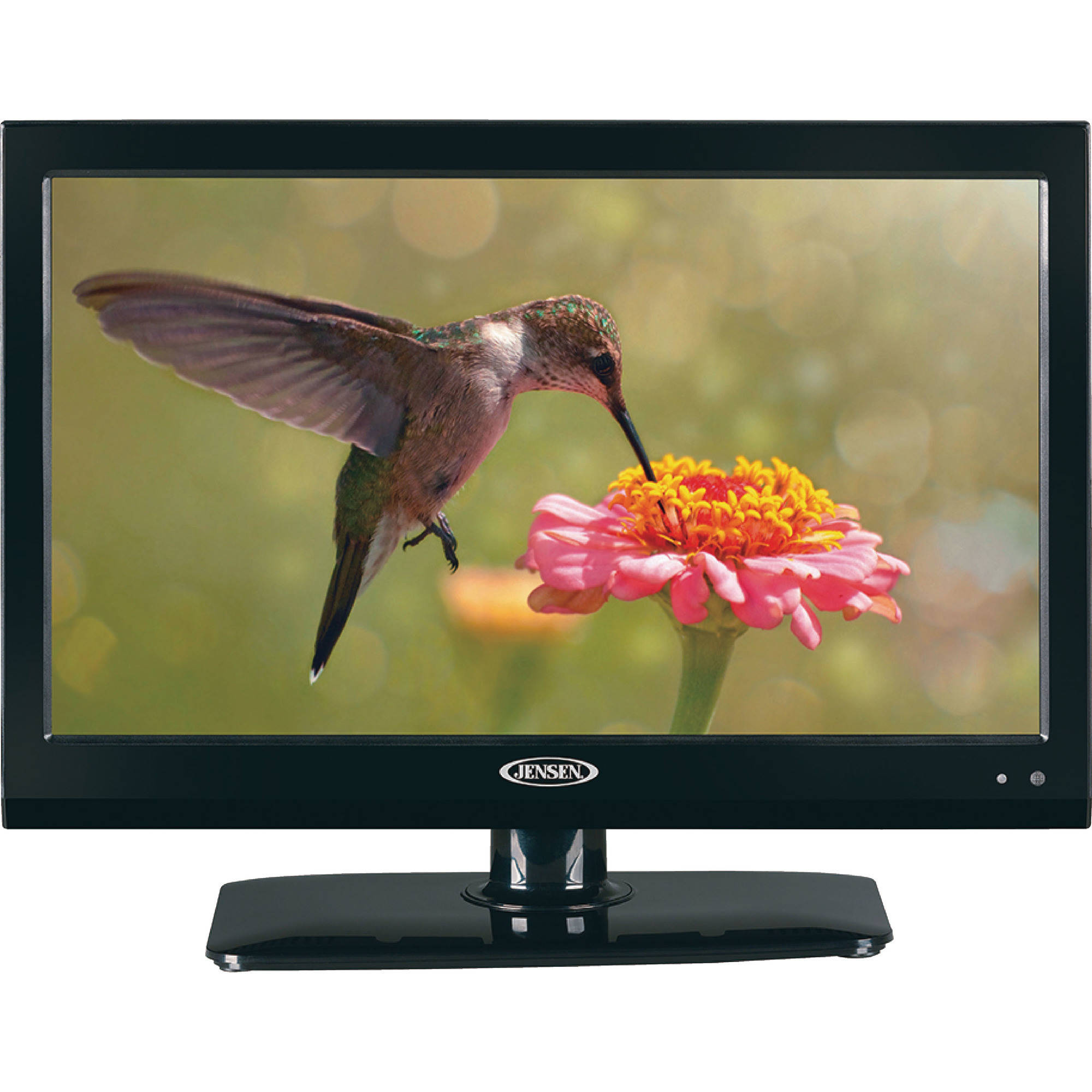"Jensen JE1914DVDC 12VDC/110VAC 19"" LCD RV / Marine Television TV with DVD Player, Remote Control and Stand"