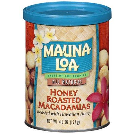 Mauna Loa Honey Roasted All Natural Macadamias, 4.5 oz